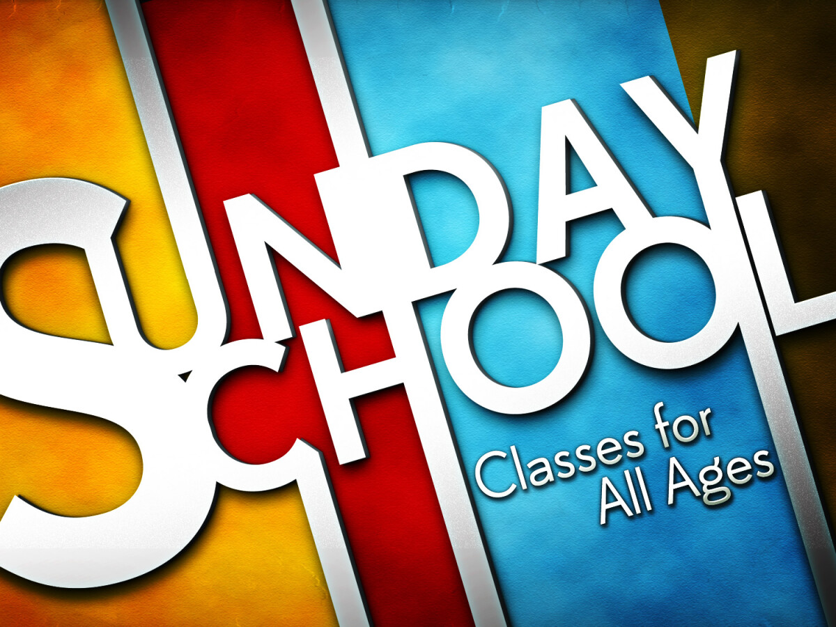 Sunday School - Winter 2019